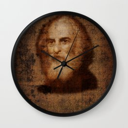 Henry Wadsworth Longfellow Wall Clock