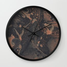 Tungsten Wall Clock