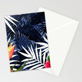 Bold Tropical Paradise Design Stationery Cards