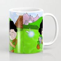 zelda Mugs featuring Zelda! by Afro Pig