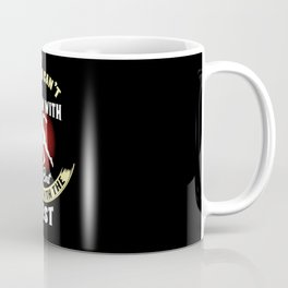 Track & Field: If You Can't Throw With The Best Run Gift Coffee Mug