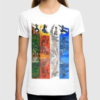 the legend of korra T-shirts featuring Legend of Korra Elements by paulovicente