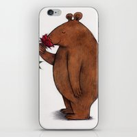 stanley kubrick iPhone & iPod Skins featuring Stanley by Charlotte Goodman art