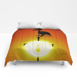 Pelican Weathervane Comforters