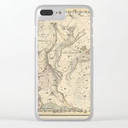 Alexander Jamieson - Celestial Atlas 1822 Plate 7 Bootes Clear iPhone Case