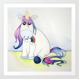 Whimsical Unicorn Art Print
