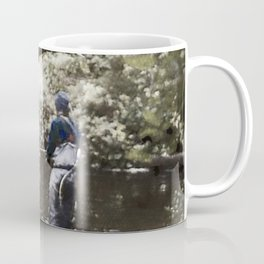 Trout River Fishing Coffee Mug