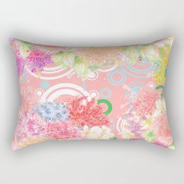 Is flowering seasons- a dream come true / 遍地花開-滿地結果 Rectangular Pillow