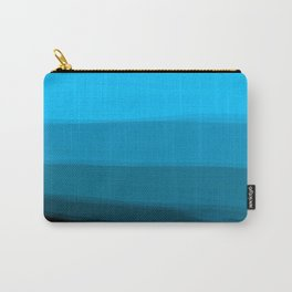 Ombre in Blue Carry-All Pouch