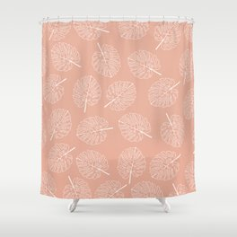I've Created A Monstera Shower Curtain
