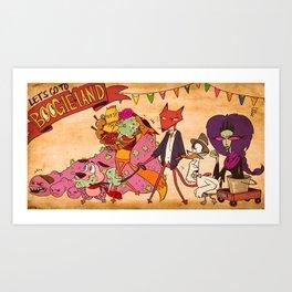 Boogieland Art Print