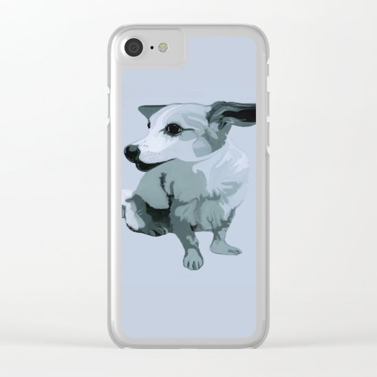 Linda dog Clear iPhone Case