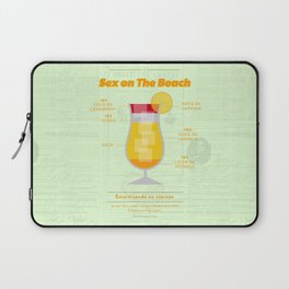 Sex on The Beach - Cocktails by Juan Laptop Sleeve