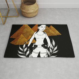Lara Croft -  Tomb Raider The Last Revelation IV Rug