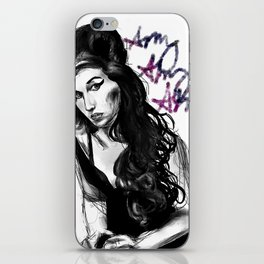 Amy Amy Amy iPhone Skin