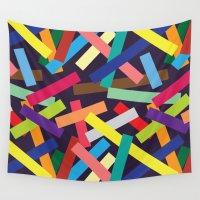 confetti Wall Tapestries featuring Confetti by Joe Van Wetering