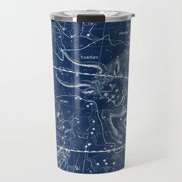 Taurus sky star map Travel Mug