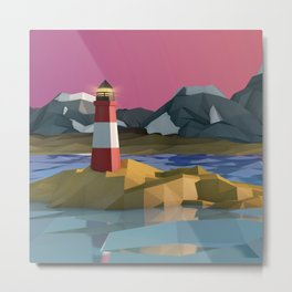 The lighthouse at the end of the world, Ushuaia, Argentina. Metal Print