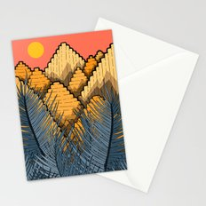 Pyramid Mountains Stationery Cards