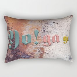 Yo! ga ga Rectangular Pillow