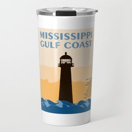 Mississippi's Gulf Coast. Travel Mug