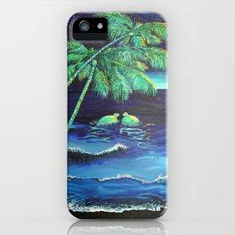 2 Honu at Night  iPhone Case
