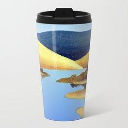 Water Meets Sand: Te Paki Stream Travel Mug