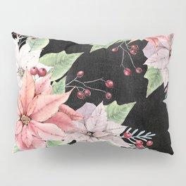 Poinsettia Pillow Sham