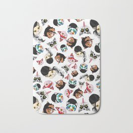Pop Cats Bath Mat