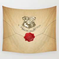 targaryen Wall Tapestries featuring HARRY POTTER ENVELOPE by Sophie