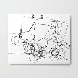 A new car Metal Print