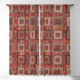 Azeri Zili Karabagh Azerbaijan South Caucasus Flatweave Print Blackout Curtain