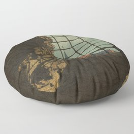 From A Castle Floor Pillow