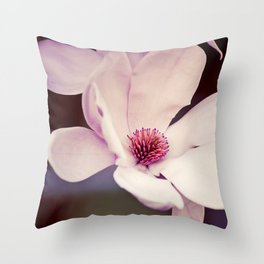 Magnolia in Bloom, 2 Throw Pillow