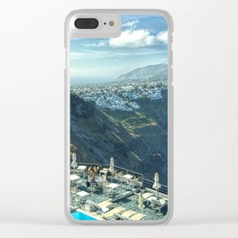 From Volcanic Ash To Beauty Clear iPhone Case