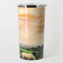 Farmland in Cumbria Travel Mug