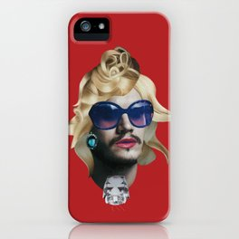 Emile Hirsch as a natural blonde iPhone Case