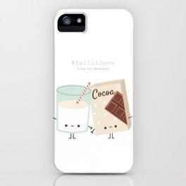 Fall in love - Ingredienti coraggiosi iPhone Case