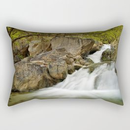 Waterfall in Ourika valley Rectangular Pillow