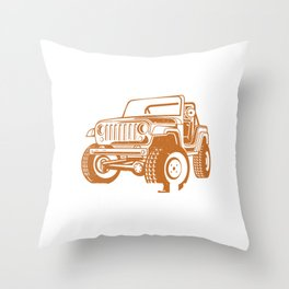 Get In Sit Down Shut Up Hold On Dirt Racing Gift Throw Pillow