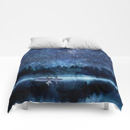 Night Sky Comforters