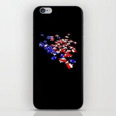 patriotic jigsaw iPhone & iPod Skin