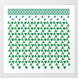 it's always green  Art Print