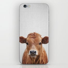 Cow 2 - Colorful iPhone Skin