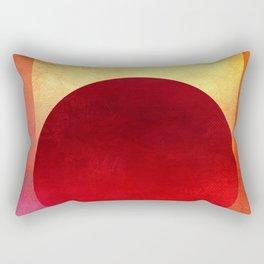 Circle Composition XIII Rectangular Pillow