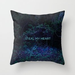Steal My Heart Throw Pillow