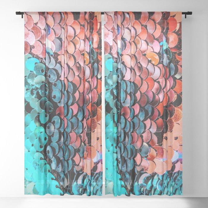 Sequin Sheer Curtain