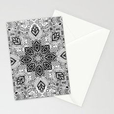 Gypsy Lace in Monochrome Stationery Cards