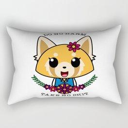 Fight Like A Girl. Rectangular Pillow
