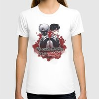 tokyo ghoul T-shirts featuring Tokyo Ghoul TRAGEDY  by lilbutt